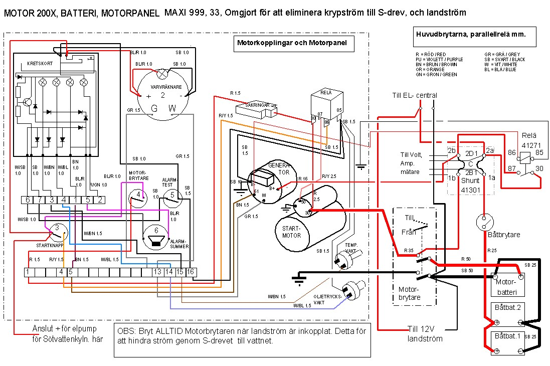 Motbatt land on volvo wiring diagram